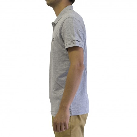 Polo Simple Paddle Homme Gris