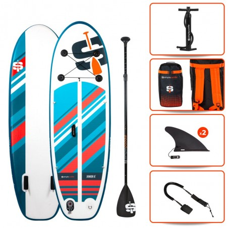 Stand up Paddle Gonflable 8'0 - JUNIOR SIMPLE PADDLE 8' 30'' 4'' (244x76x10cm)