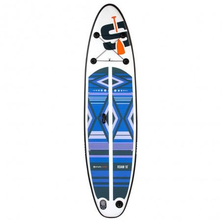 Stand up Paddle Gonflable 10', ROAM SIMPLE PADDLE COMPACT 10' 30'' 6'' (305x76x15cm)